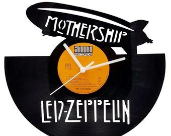 Led Zeppelin Vinyl Clock
