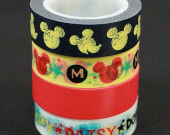 Mickey Mouse Washi Tape