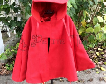 Christmas cape set, cape, deerhunting hat, detective, dress up, costume, halloween, wool cape, outerwear, kids jackets, kids outerwear