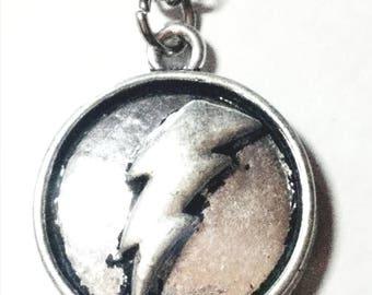 Lightening Shield Necklace