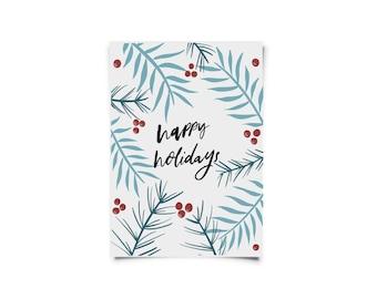 Happy Holidays - Holiday Card