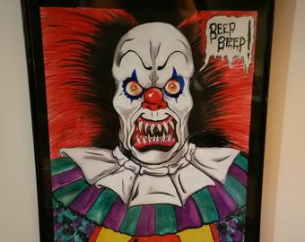 Pennywise the Dancing Clown drawing