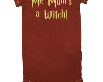 GLATT, nur 12,00!!!, mir Mama ist eine Hexe, Babybody, Harry Potter