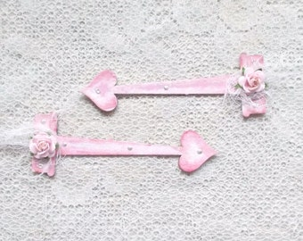 Fancy Chipboard Brackets, Hinges for scrapbooking, Card Making, Mixed Media