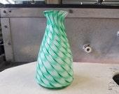 Feather Patterned Vase, D...