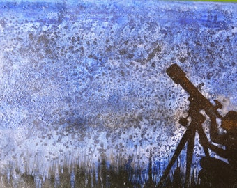 STARDUST man at the telescope