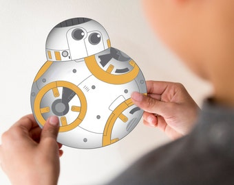 BB-8 Invitation PDF- Custom - Direct download - PDF