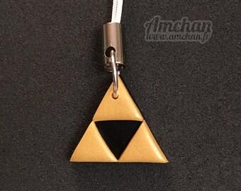 Triforce Strap Charm (The Legend of Zelda)
