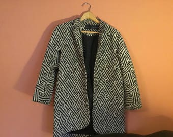 Vintage Zara Jacket black and white size XS/S