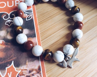 The Autumn Court - Mala Bracelet