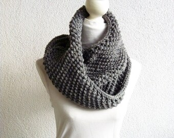 ducks grey Loop,Cozy Wrap UP , cowl
