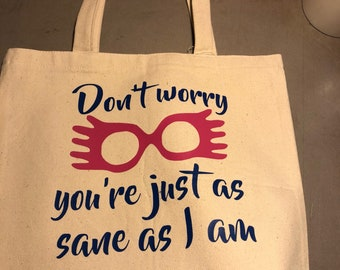 Harry Potter Inspired Tote Bags