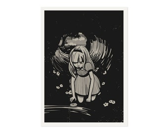 Alice is Following - 5x7 art print