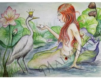 Print of original illustration by Monica Dollison