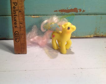 Vintage my little pony G1 Little Flitter 1988