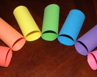 Foam Tube Toy - Hedgehog / Small Pet - 7 Colors