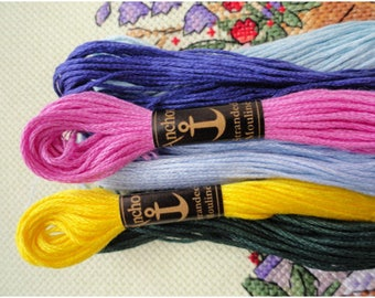 Embroidery Floss by ANCHOR - 24 skeins