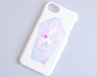 Pastel girl iPhone case