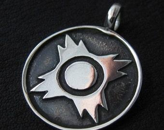 Silver Sith pendant