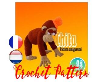 Tutorial amigurumi monkey Chita
