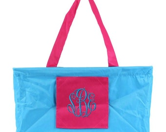 Wireframe All Purpose Large Utility Bag, utility tote, personalized tote, monogrammed tote, beach bag, personalized, travel bag