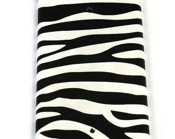 Blank Light Switch Cover Switchplate   Funky Switch Plate    Zebra  (086B)
