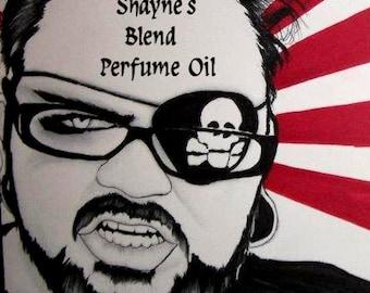 SHAYNE'S BLEND Perfume Oil -  Arabian Sandalwood, Dark Vanilla, Clove, Spices - Gothic Perfume
