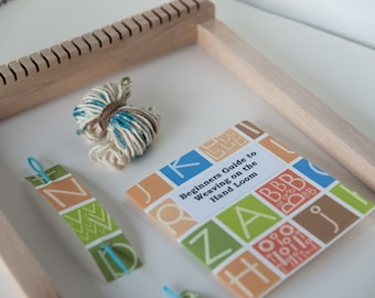 Kid's Weaving Loom Kit With Natural Finish Loom