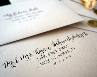 Wedding Calligraphy Envelope Addressing