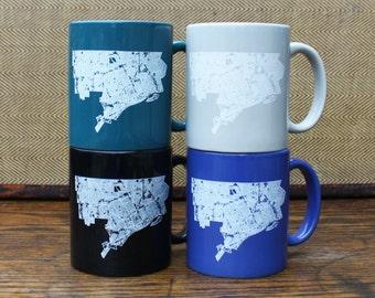 Detroit Map Mug