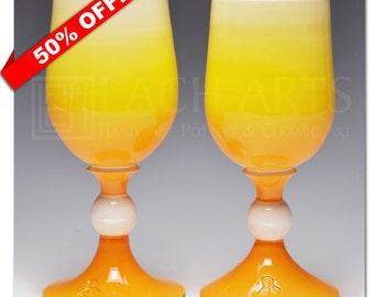 50% OFF - Sunny Disposition White Wine Chalice