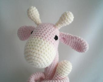 Crochet Giraffe  / Amigurami Giraffe / Giant Sized Giraffe / Giraffe Soft Toy / Crochet Giraffe Plush Soft Toy / Crochet Plushy.