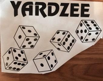 10 yardzee decals