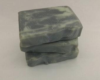 Indigo cold process soap   Handcrafted Artisan soap