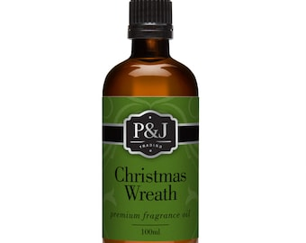 Christmas Wreath Fragrance Oil - Premium Grade Scented Oil - 100ml