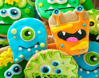 Monsters cookies (12 cookies)