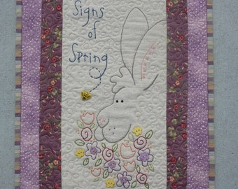 Signs of Spring wall hanging