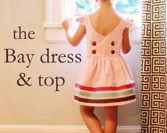 BG Originals the Bay dress and top pdf pattern