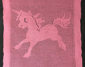 Baby Unicorn Blanket
