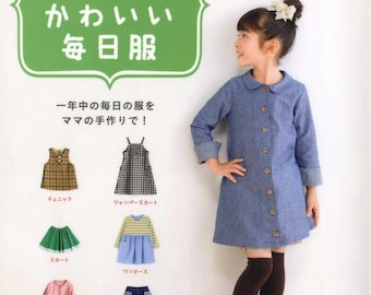 Girls Everyday Cute Kawaii Clothes - Japanese Craft Book