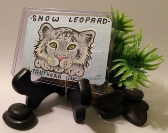 Snow Leopard (Wild Cat Donation Card)