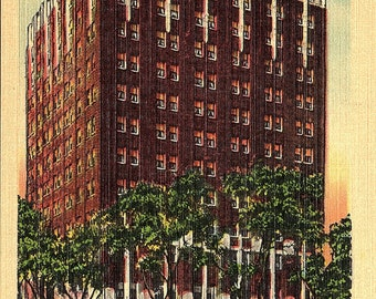 Columbia, South Carolina, Hotel Columbia - Postcard - Vintage Postcard - Unused (KK)