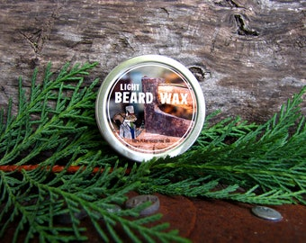Doctor Squirrel Grooming Co - Beard Mustache Wax with pine resin - 100% ORGANIC - 1 ounce