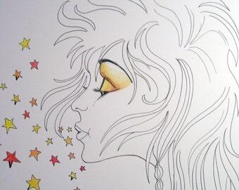 Art Print - Good Morning Starshine