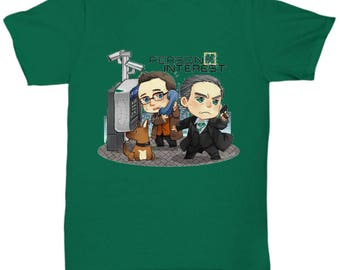 Person of Interest T-Shirt Green
