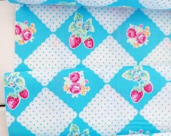 Flower Sugar Berry - Picnic(Aqua) - Lecien - Japan, Inc