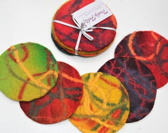 Autumn Patterned Coasters