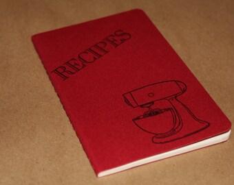 Recipes Mixer Cooking Baking Journal