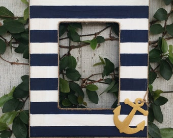 5x7 nautical hand painted frames