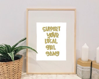 Girl gang quote